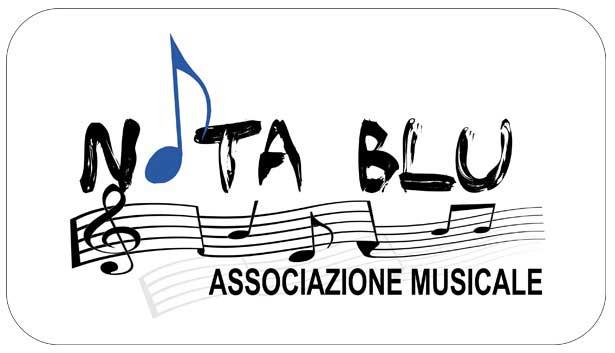 grafica terni stefano ferri associazione note blu logo