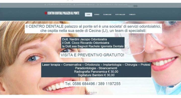 web design terni stefano ferri centro dentale il ponte firenze