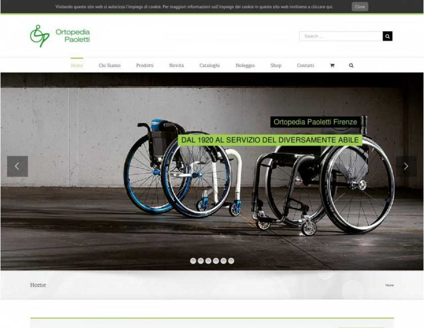 web design terni stefano ferri ortopedia paoletti firenze