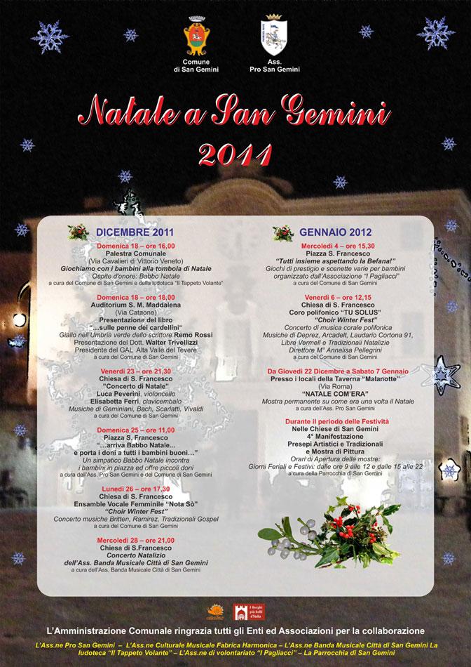 locandina natale a sangemini 2011 a3