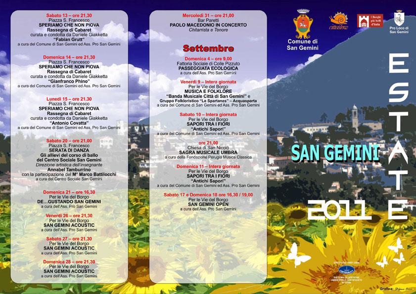 san gemini estate 2011 brochure stefano ferri