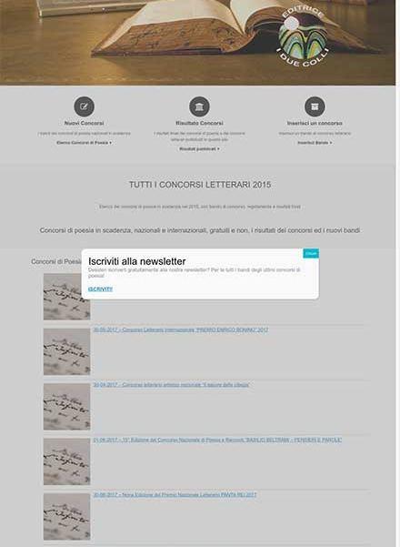 sito web concorsi di poesia